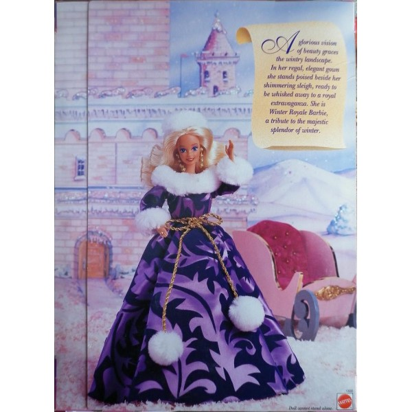 www oldtoys on barbie bambola winter royale 1993. Black Bedroom Furniture Sets. Home Design Ideas