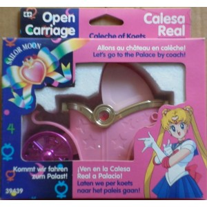 Bandai Sailor Moon carrozza aperta 1992
