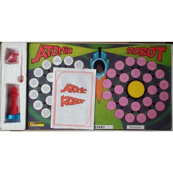 Oldtoys on line gioco da tavolo atomic robot