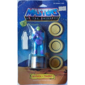 Motu Masters of the Universe Skeletor timbrino fosforescente