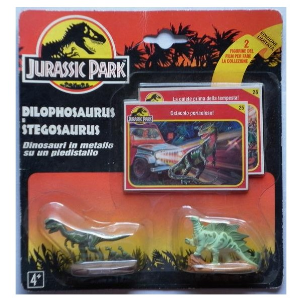 Oldtoys on line jurassic park dinosauri metallo