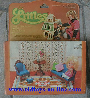 Mattel The Littles Family Room With Own Porch