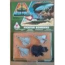 Kenner Mega Force V-Rocs army Fighter Bombers con ponte catapulta 1989