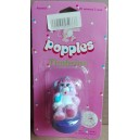 Mattel timbrino Popples Party Popple Che poppolata 1986